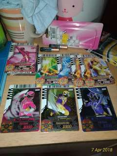 Power Rangers card battle for sale