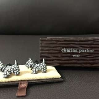 Charles Parker Dog cuff links