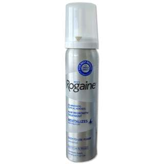Rogaine 5% For Men Hair Growth Treatment Foam 1 Month Supply (For Hair And Beard Growth)