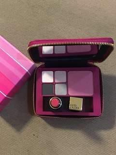 💯NEW Guaranteed Original Estée Lauder Limited Edition Make Up Cosmetic + Lipstick + Lovely Pink Pouch (Bought Rm249.00)