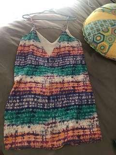 Lined slip dress