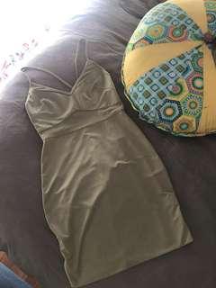 Dress. Size 8. Olive