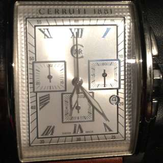 CERRUTI 1881 Swiss Made (For Lady's & Men's) Watch