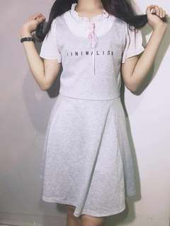 baju dress korea