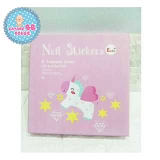Nail Sticker & Temporary Tattoos (Gift Box For Kids)