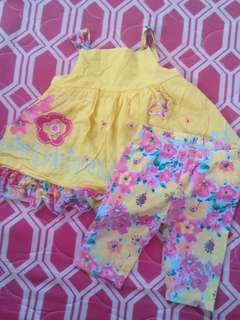 baby dress with pants