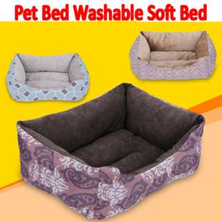 TPE037 Dual Use Warm Soft Cotton Bed for dogs/cats