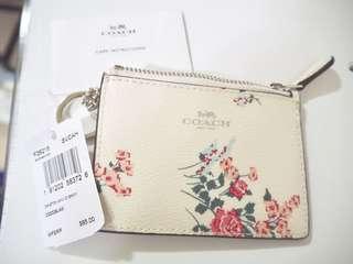 Coach mini skinny id wallet