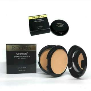 Bedak Revlon 2in1