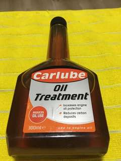 Oil treatment for engine