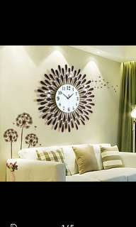Large 60cm beautiful Wall Clock