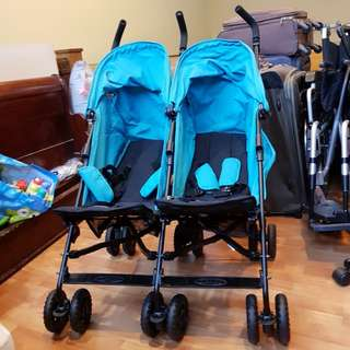 Twin Stroller negotiable