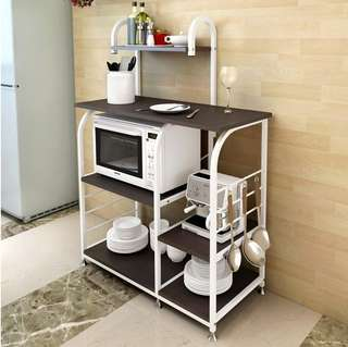 Multifunction Kitchen Microwave Oven Storage Rack