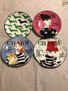 Kate Spade side plates - brand new