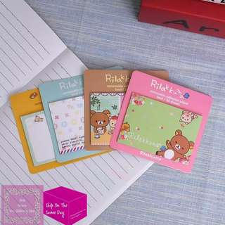 1pc Rilakkuma Sticky Note