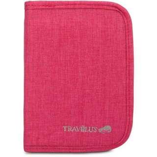 BAGS Travel Zip-Up Passport Pouch (Pink)