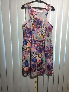 Apartment 8 floral sexy dress