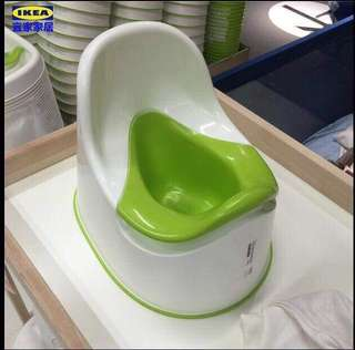 IKEA CHILDREN GREEN POTTY - BRAND NEW by IKEA