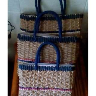 Brand New 3 in 1 Abaca Bag