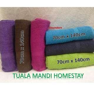 """Tuala Mandi Homestay Bath Towel 27""""x54"""""""