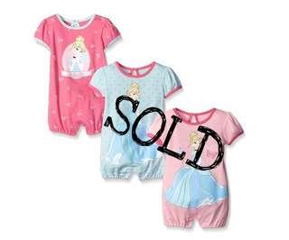 *SALE* BN Disney Romper For Baby Girl (9M)