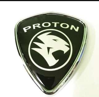 Proton Logo M size (8 x 7.5 cm)