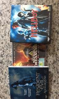 3 movies VCD