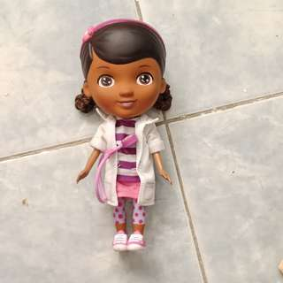 Doc Mc Stuffins doll