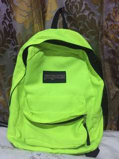 AUTHENTIC JANSPORT NEON BAG