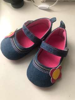Jeans style baby shoes New