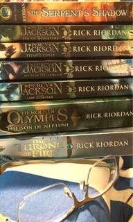 Rick Riordan Percy Jackson series - 7 books