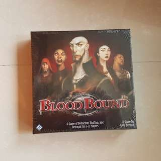 Blood Bound 2nd Edition Brand New Board Game