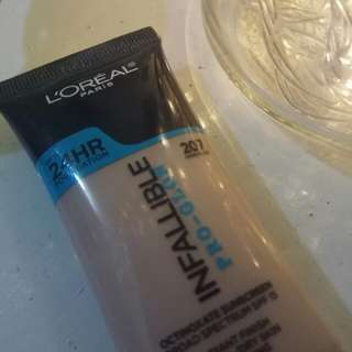 Loreal infallible pro glow shade 207