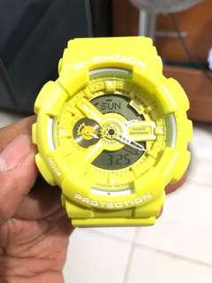 G-shock GA-110BC Neon Yellow