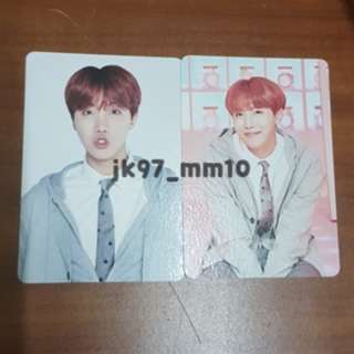 [WTS] BTS 4TH MUSTER MINI PHOTOCARD - HOSEOK J-HOPE #1 & #5