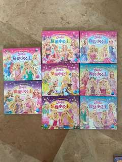 Barbie Chinese book with themes (suitable for 6-10yo)