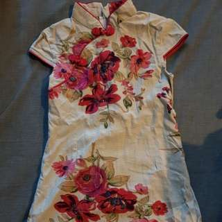 Preloved cheongsam (for 3-4years old)