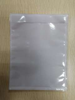 Clear packing list envelope 115x150mm