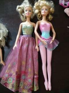 Barbie bundle 3dolls for only 1k