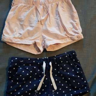 Preloved Baby Gap and H&M shorts