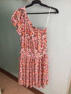 One sided summer dress