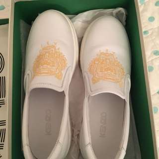 Kenzo leather shoes size 38