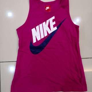 Nike Swoosh Pink Singlet (13-15y)