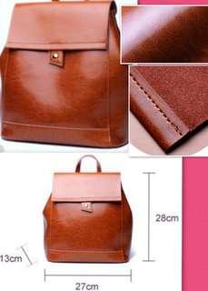 Backpack Genuine Leather