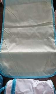 Baby Diaper Changing Mat + Bottle Holder + Diaper Bag