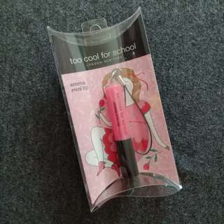 Auth Too Cool For School Korean Emma Mini Lip Gloss