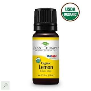 [NEW] 10ml Plant Therapy Lemon Organic
