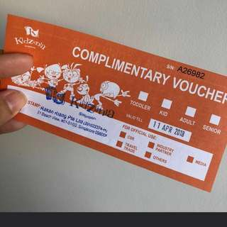 Kidzania Ticket