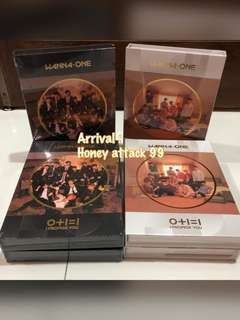 [Arrival 1.0][ Sold Out] Wanna One I Promise You Album
