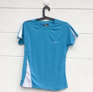 Nike Blue Workout Tee